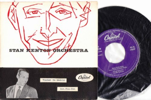 Stan Kenton - Winter Madrid - Hand Painted Sleeve -Capitol